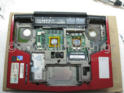 Service Laptop Alienware