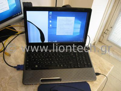 Σπασμένη Οθόνη Laptop
